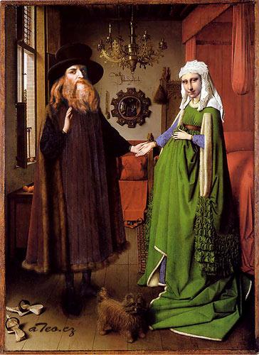 arnolfini wedding portrait controversy