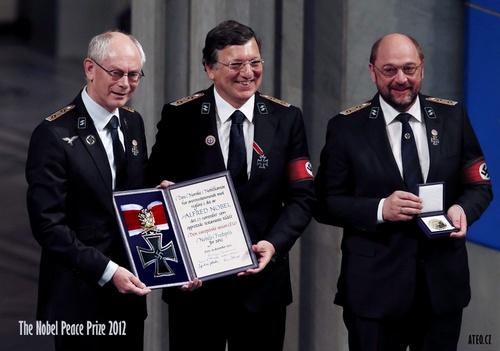 The Nobel prize ceremony